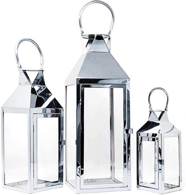 Chrome Lanterns