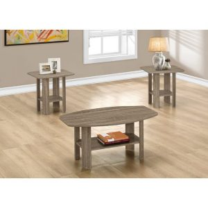 Taupe Coffee Table Set