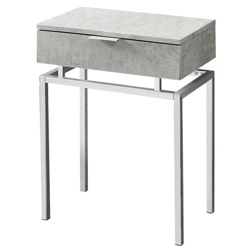 Modern Grey End Table