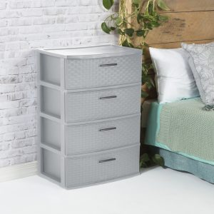 Gray Chest of Drawers